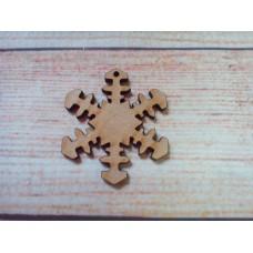 Snowflake D1 Laser Cut PK1